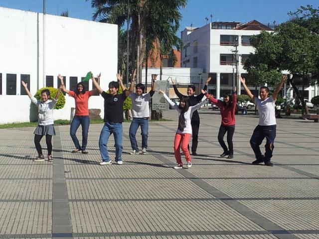 ボリビアの結ダンス